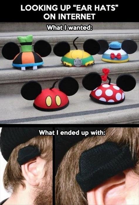 ear hats disney hats - 7733154048
