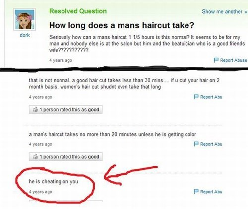 trolling,yahoo answers,cheating,funny