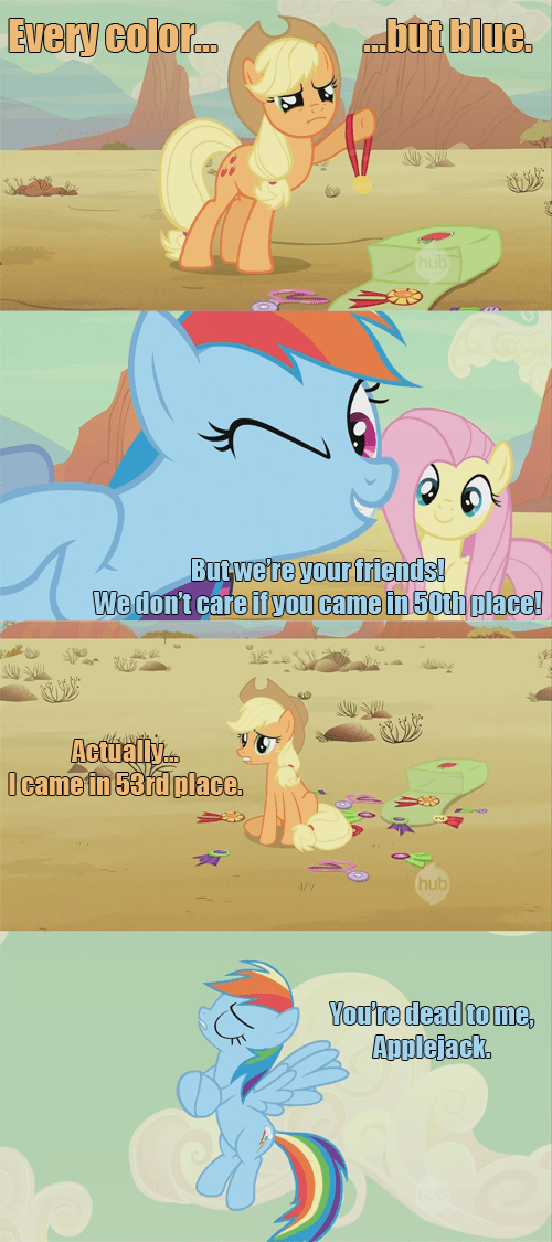 applejack dead memes come back rainbow dash - 7733293056