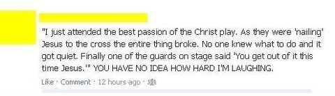 crucifix,jesus christ,crucifixion,failbook,g rated