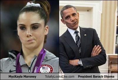 MycKayla Maroney Totally Looks Like President Barack Obama