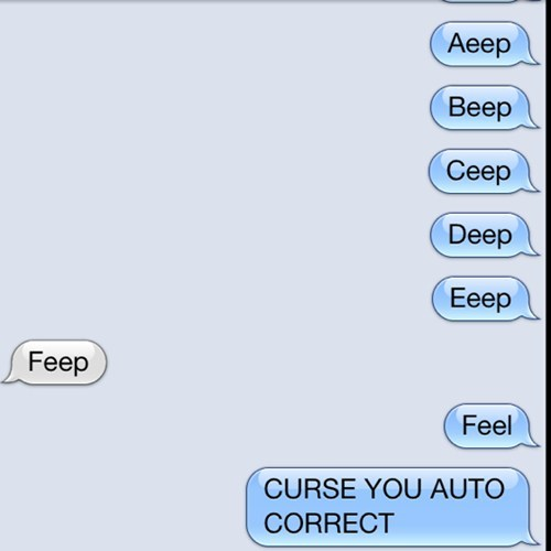 autocorrect text combo broken funny - 7733389312