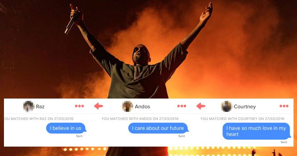 dating,list,kanye west,tinder