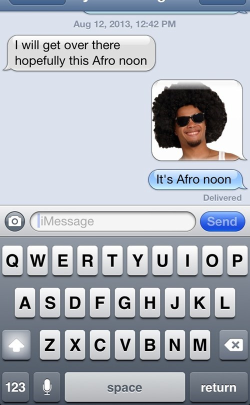 autocorrect afro text funny