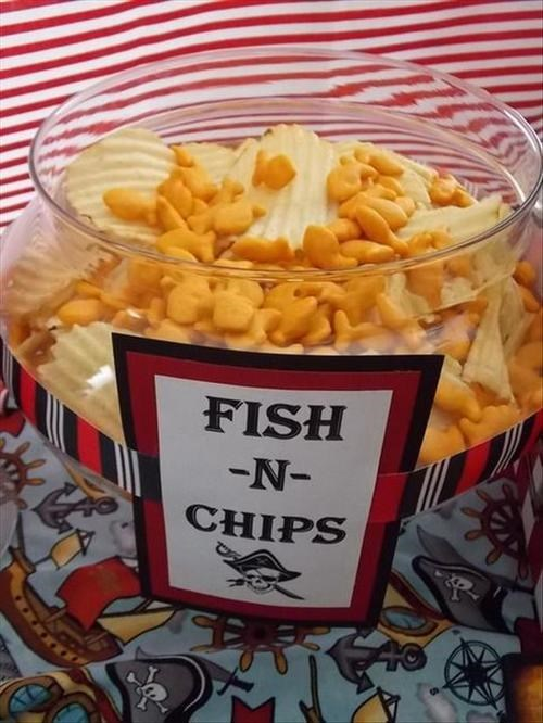 goldfish chips fish - 7734299904