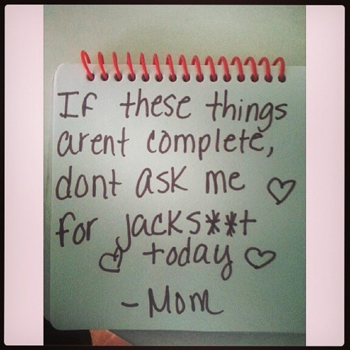 parenting notes funny - 7734496000