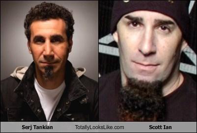 totally looks like,scott ian,serj tankian,funny