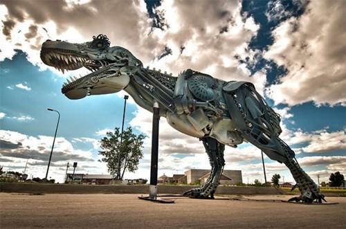 art design robots funny t rex - 7734657280