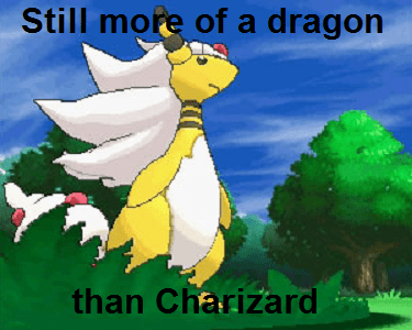 dragons,mega pokemon,mega ampharos