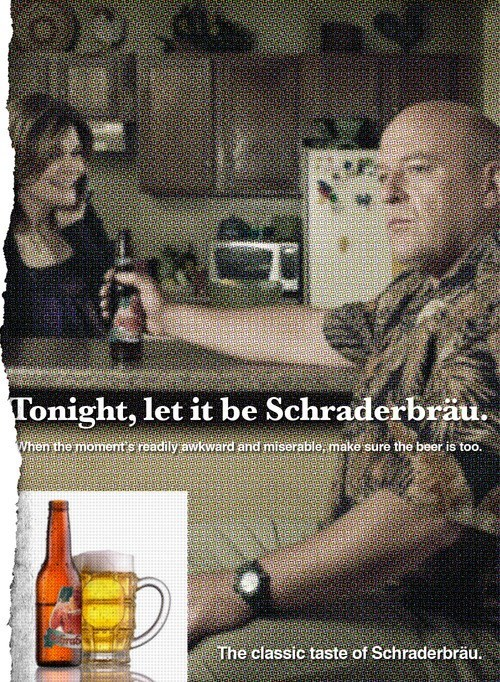 beer,breaking bad,fake,shraderbrau,funny