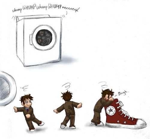 10th doctor Fan Art cute chibi funny