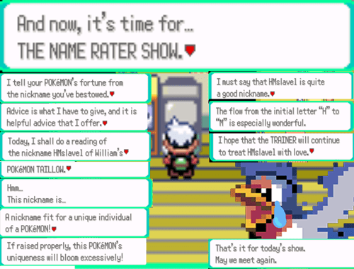 Pokémon name rater gameplay - 7734756864