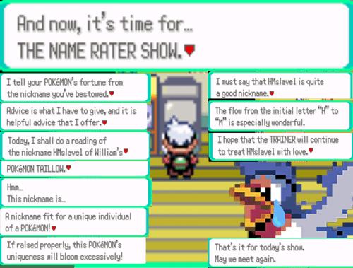 Pokémon name rater gameplay - 7734756864