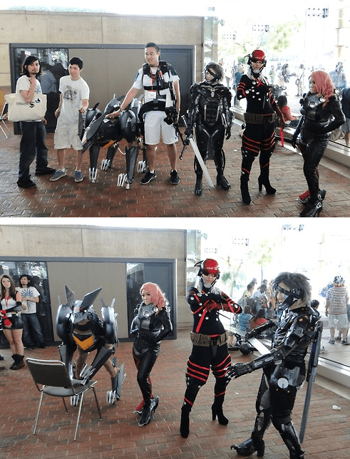 Yes That Really is a Bladewolf Cosplayer