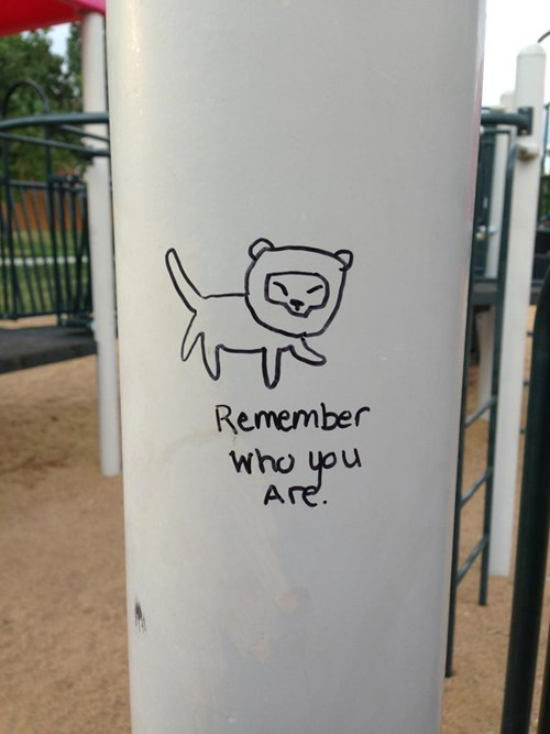 disney graffiti hacked irl lion king funny g rated win - 7734808832
