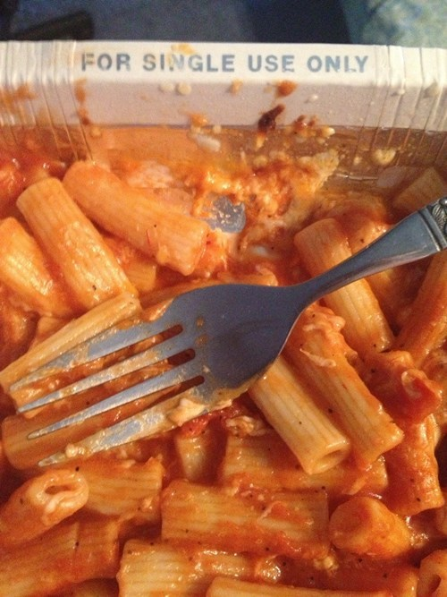 forever alone dinner food - 7734817024