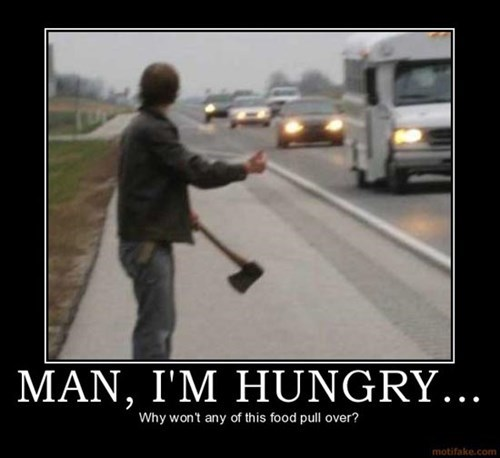 hungry man axe funny - 7734840320