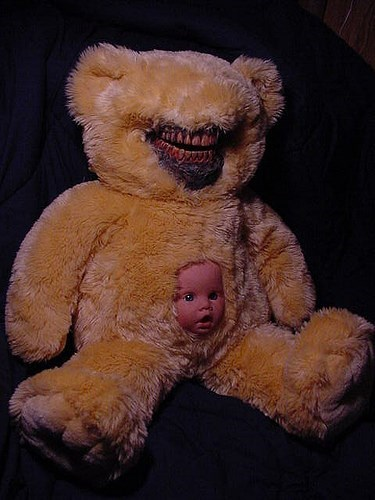 wtf bears dolls funny