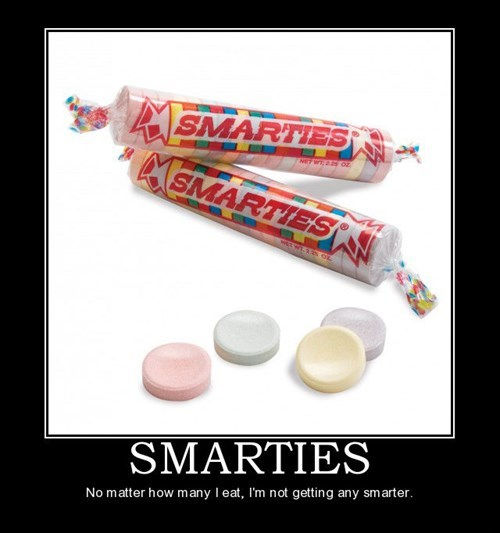 smarties candy funny