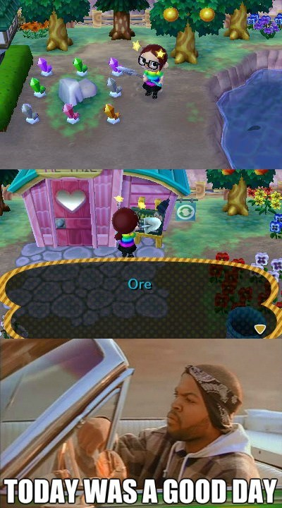 ore gimme bells animal crossing re-tail
