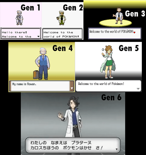 Pokémon welcome to the world of pokemon all the gens - 7735671296