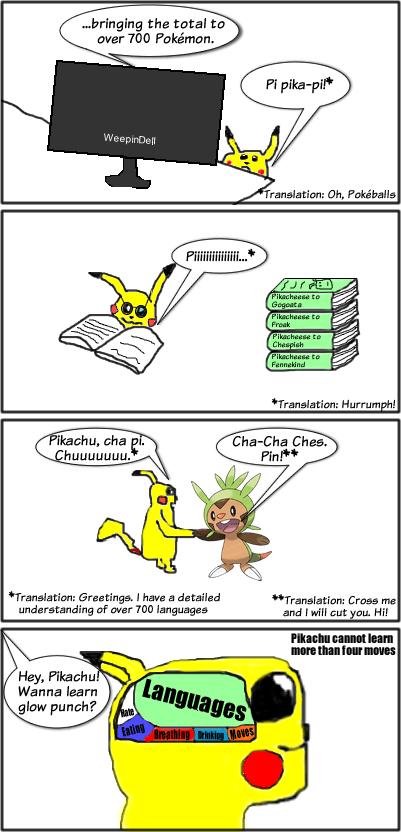 comics pikachu - 7735908864
