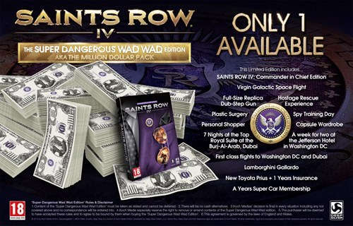 Video Game Coverage saints row IV video games limited editions - 7736360704