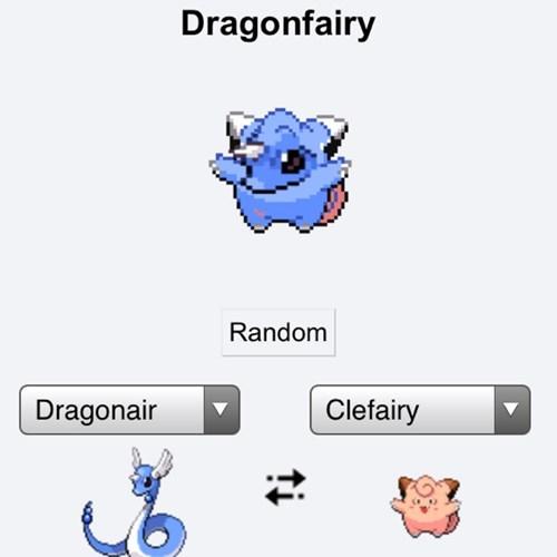 dragonair pokemon fusions clefairy - 7736429568