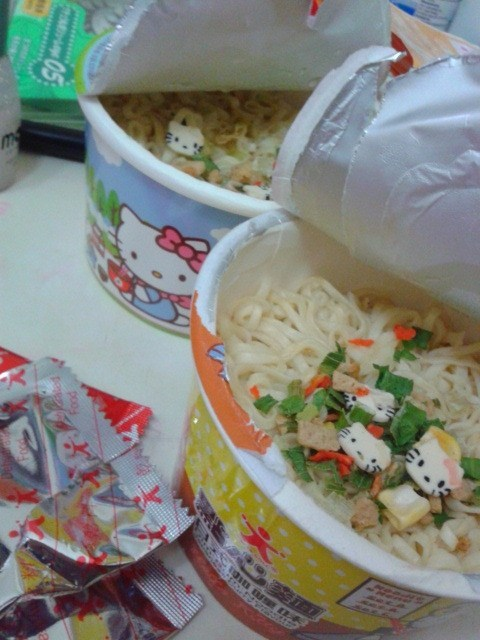 ramen hello kitty soup - 7736627712