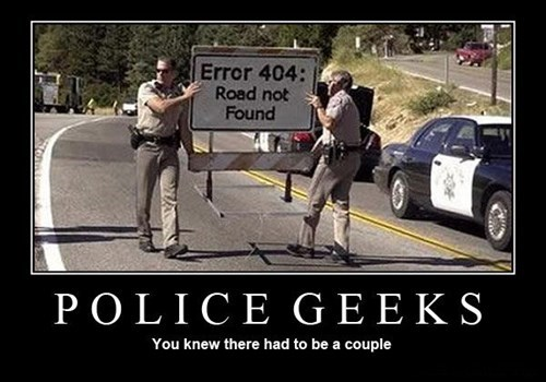 nerds,road block,404,police