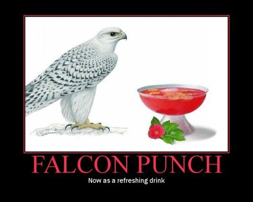puns punch falcon funny - 7736663296