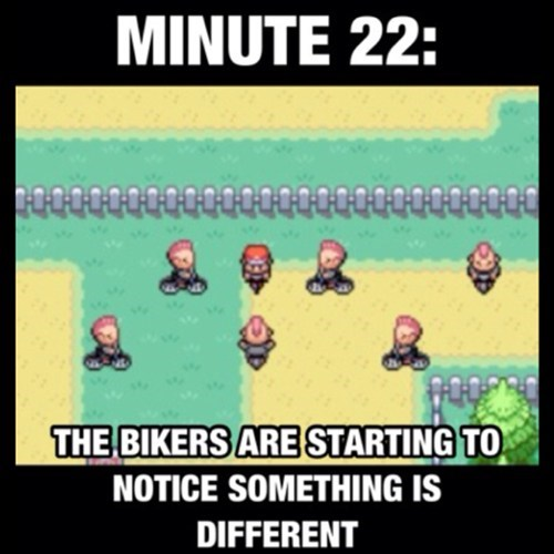 bikers,game over