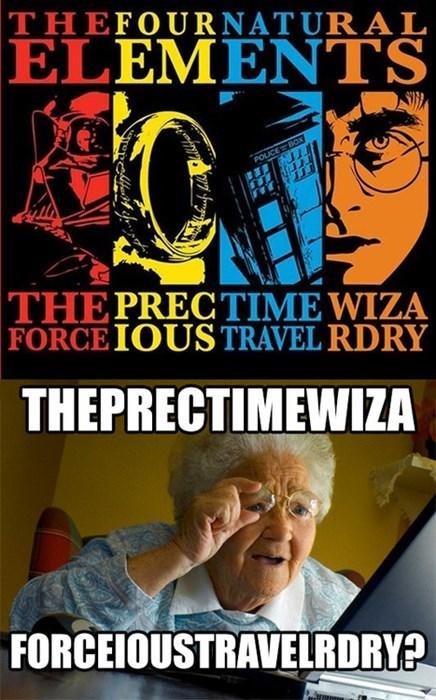 Memes fandoms internet grandma surprise - 7736811520