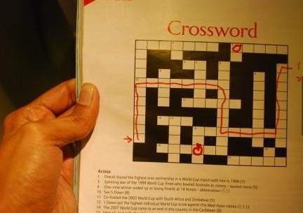 crossword,trolling,funny