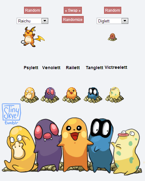 art pokemon fusions dafuq - 7736836352