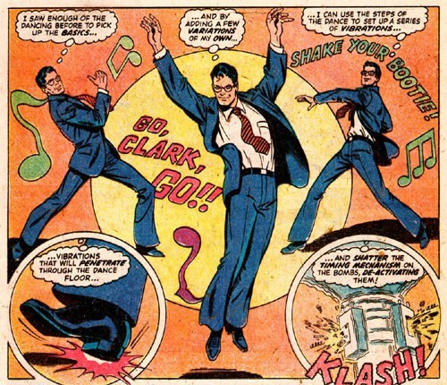 dancing off the page superman - 7736848896