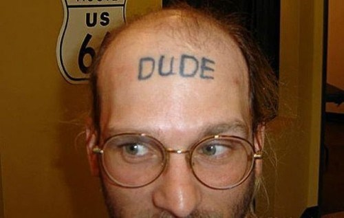 head tattoo,gifs,tattoos,funny,dude