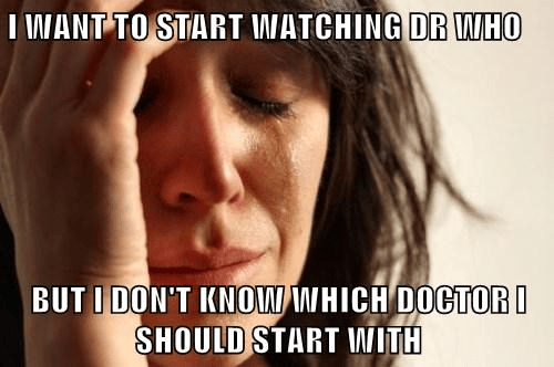 poll,doctor who,First World Problems