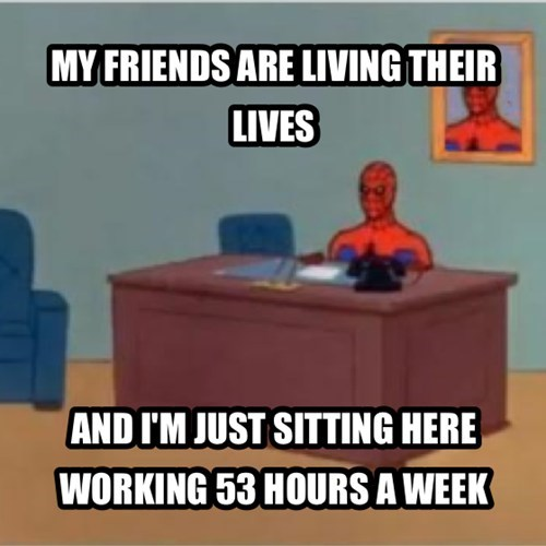 and i'm just sitting here Spider-Man - 7737175296