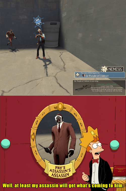 assassins,Team Fortress 2,futurama