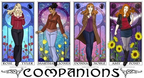 Fan Art doctor who companions - 7739174656