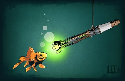 sonic screwdriver Fan Art doctor who - 7739461120