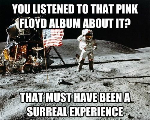 pink floyd bragging astronaut funny - 7739903744