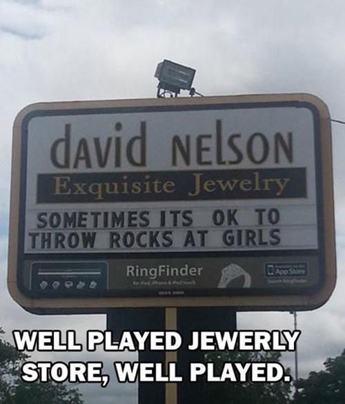 rocks david nelson pun Precious - 7740272896