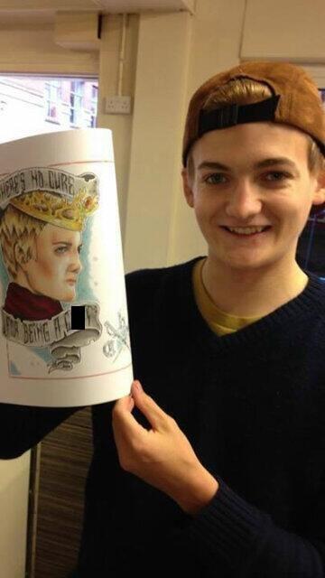 Game of Thrones Fan Art joffrey baratheon jack gleeson - 7740341504