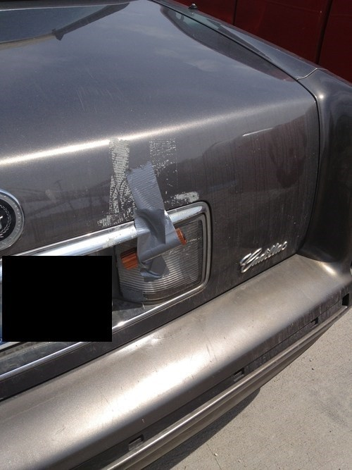 cars,flashlight,duct tape,funny,there I fixed it