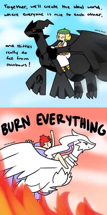 Pokémon,pokemon black and white,comics