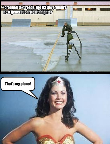 wonder woman planes funny