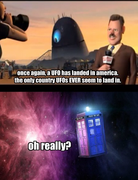 UFOs doctor who bbc - 7740657664