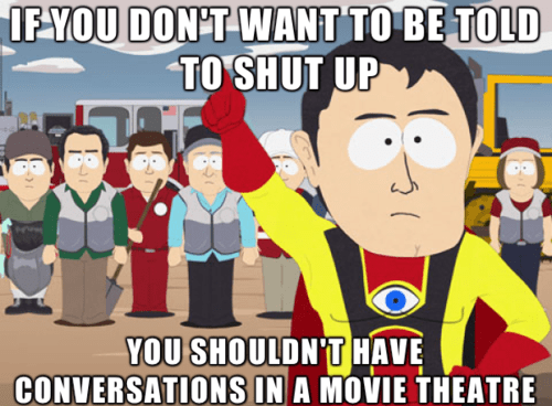 Memes,movie theatres